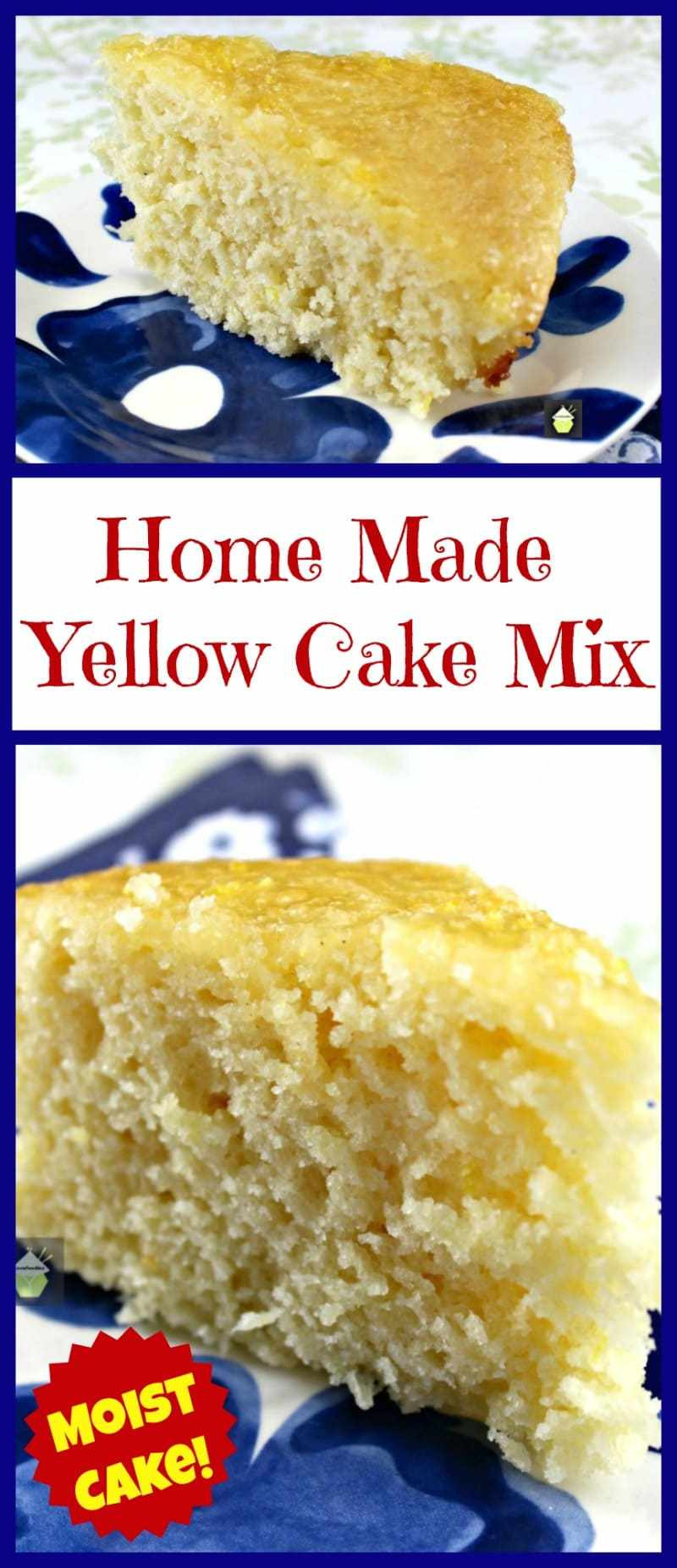 Recipes With Yellow Cake Mix  Home Made Yellow Cake Mix – Lovefoo s