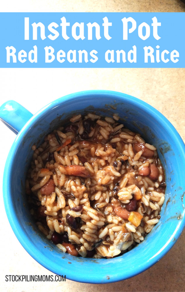 Red Beans And Rice Instant Pot  Instant Pot Red Beans and Rice