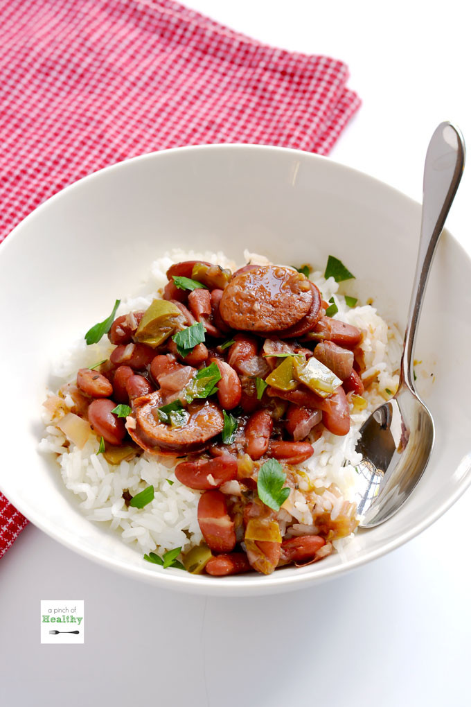 Red Beans And Rice Instant Pot  Instant Pot Red Beans and Rice A Pinch of Healthy