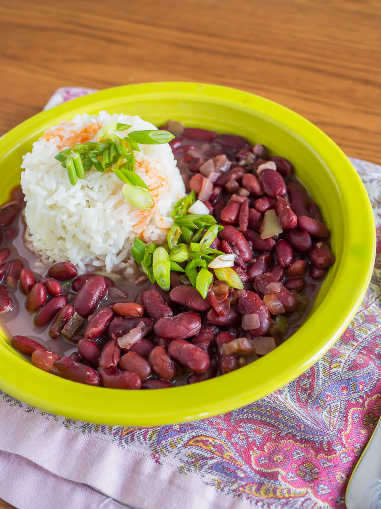 Red Beans And Rice Pressure Cooker  Pressure Cooker Red Beans and Rice DadCooksDinner