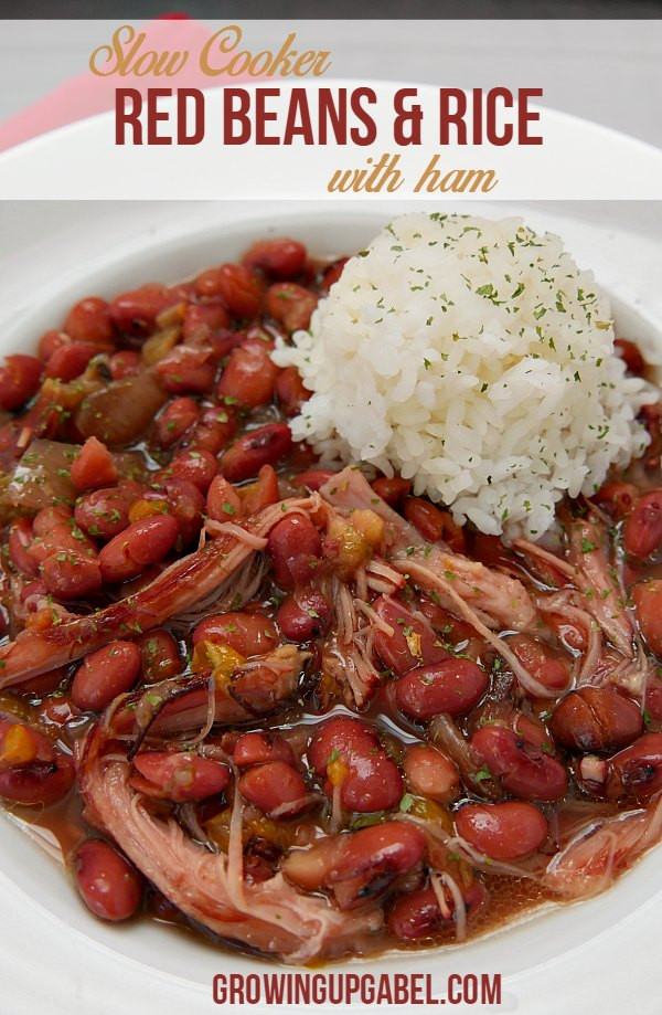 Red Beans And Rice Recipe Slow Cooker  Easy Slow Cooker Red Beans and Rice Recipe