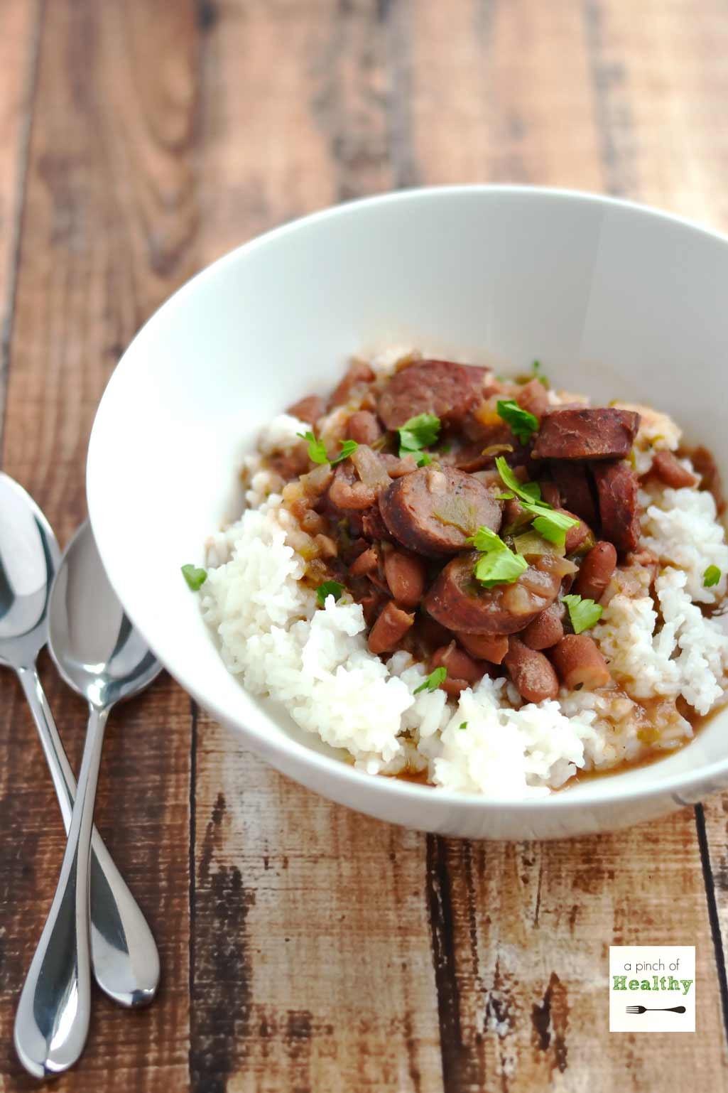 Red Beans And Rice Recipe Slow Cooker  Red Beans and Rice in the Slow Cooker A Pinch of Healthy