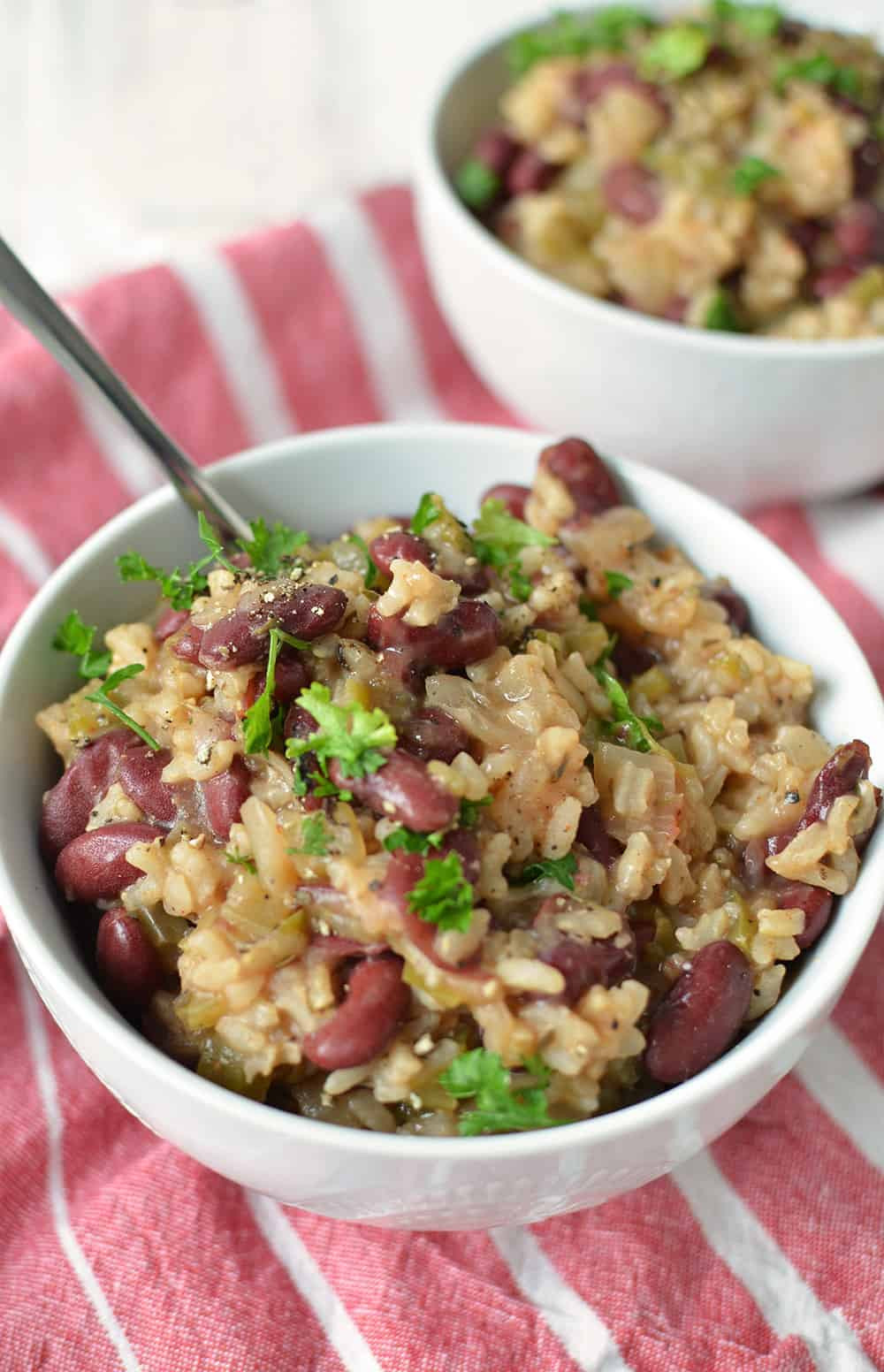 Red Beans And Rice Recipe Slow Cooker  ve arian red beans and rice slow cooker