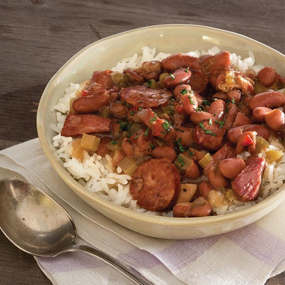 Red Beans And Rice Recipe Slow Cooker  Slow Cooker Red Beans and Rice Louisiana Cookin