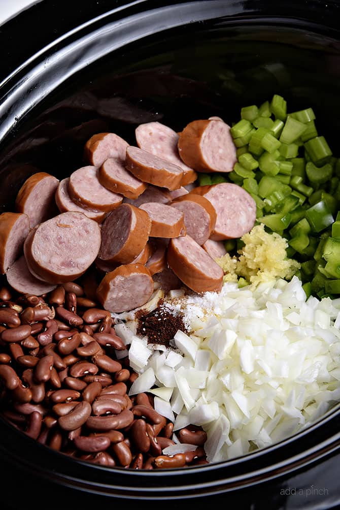 Red Beans And Rice Recipe Slow Cooker  red beans rice slow cooker