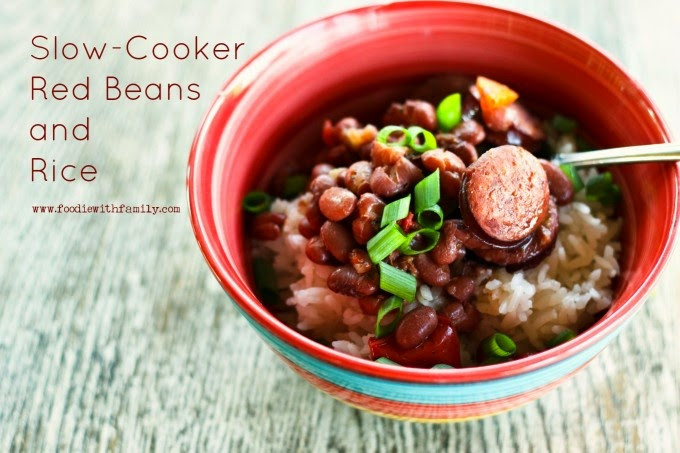 Red Beans And Rice Recipe Slow Cooker  The BEST Slow Cooker New Orleans Red Beans and Rice