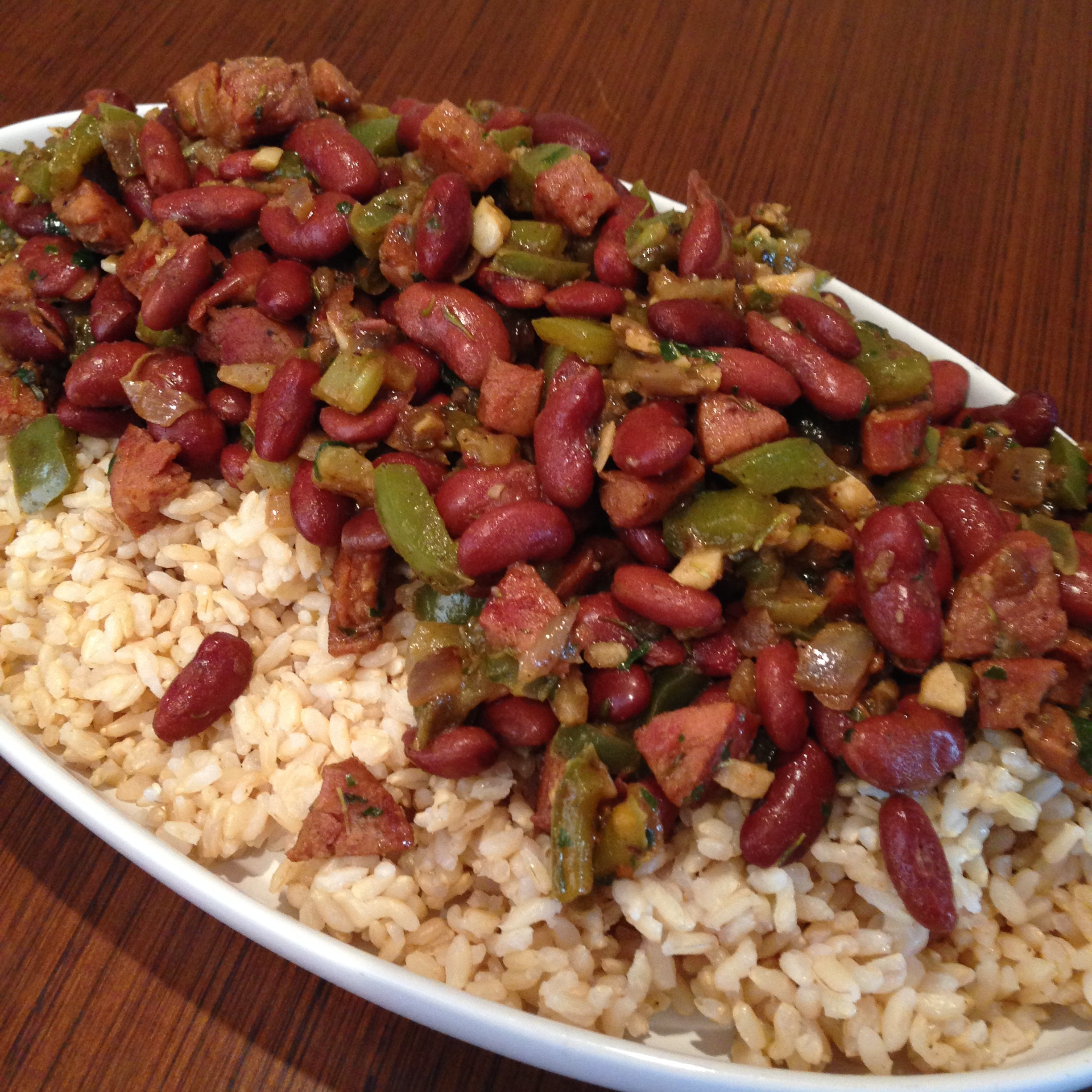 Red Beans And Rice With Sausage  Red Beans & Rice Mardi Gras Eats LeMoine Family Kitchen