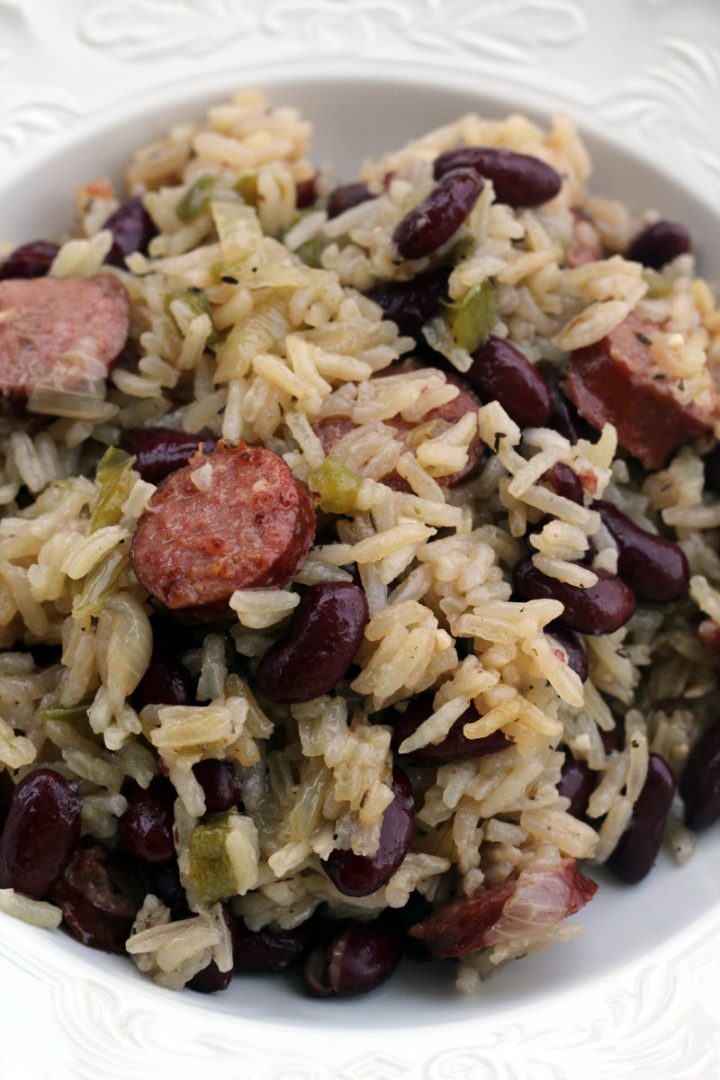 Red Beans And Rice With Sausage  Red Beans and Rice with Sausage PrincessTafadzwa