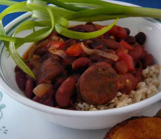 Red Beans And Rice With Sausage  Red Beans And Rice With Sausage Recipe Food