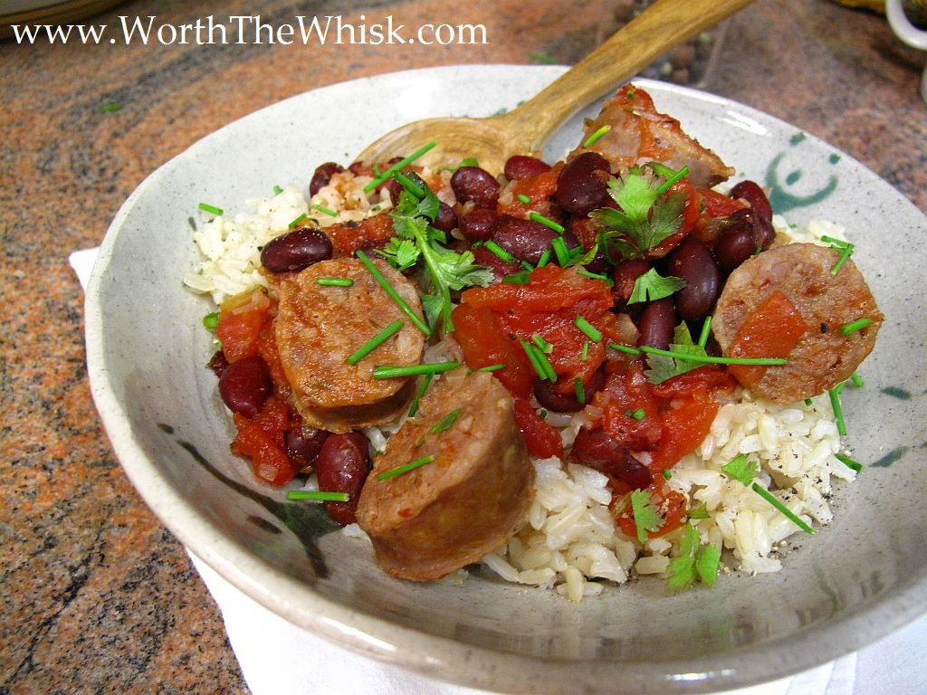 Red Beans And Rice With Sausage  Machines Made Dinner Sausage Red Beans & Rice Worth