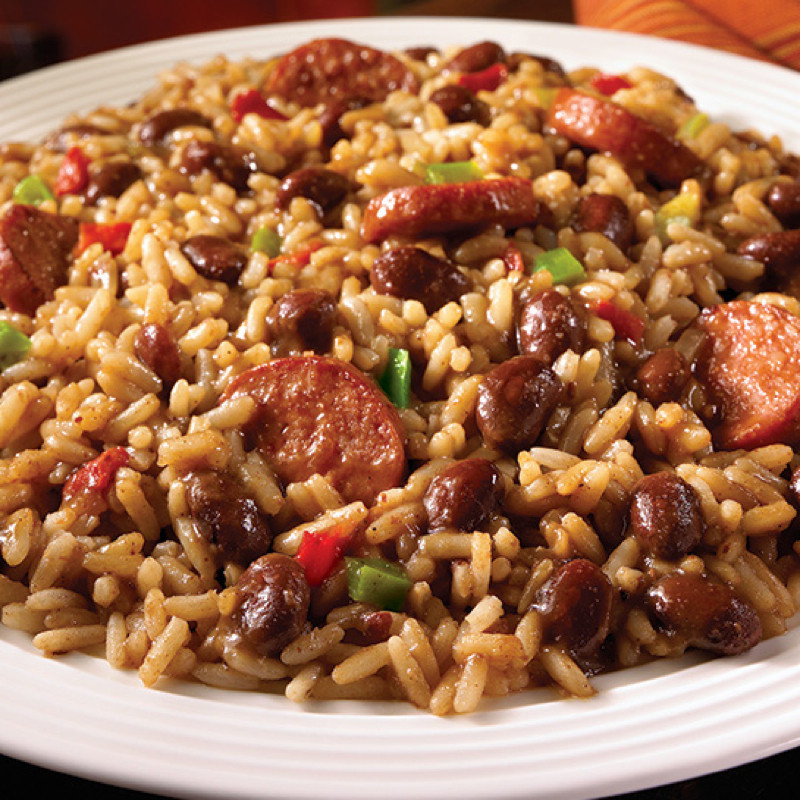 Red Beans And Rice With Sausage  Uptown Red Beans and Rice with Turkey Sausage BigOven