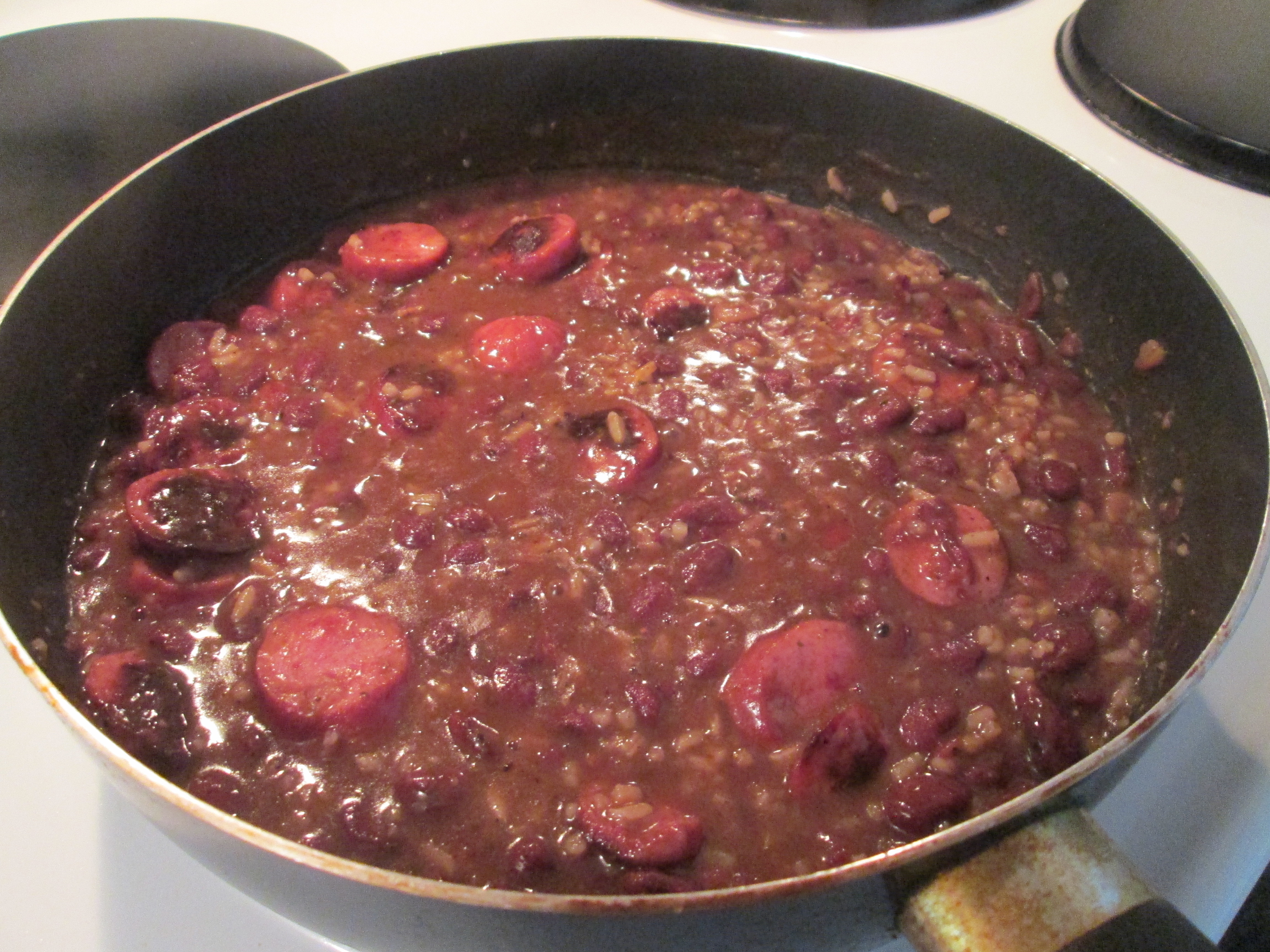 Red Beans And Rice With Sausage  zatarain s red beans and rice with smoked sausage