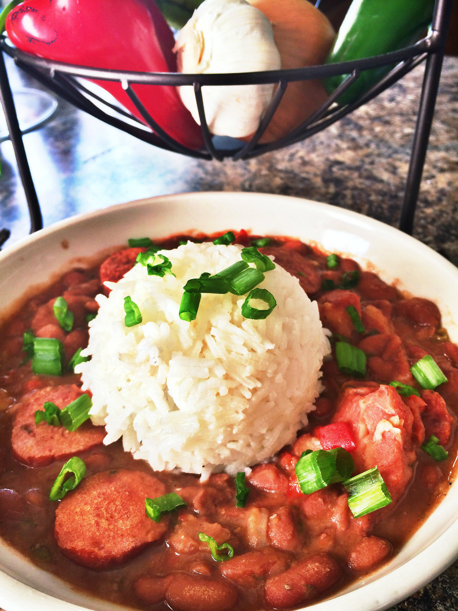 Red Beans And Rice With Sausage  I Eat Houston