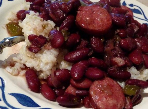 Red Beans And Rice With Sausage  Red Beans And Rice With Smoked Sausage Recipe