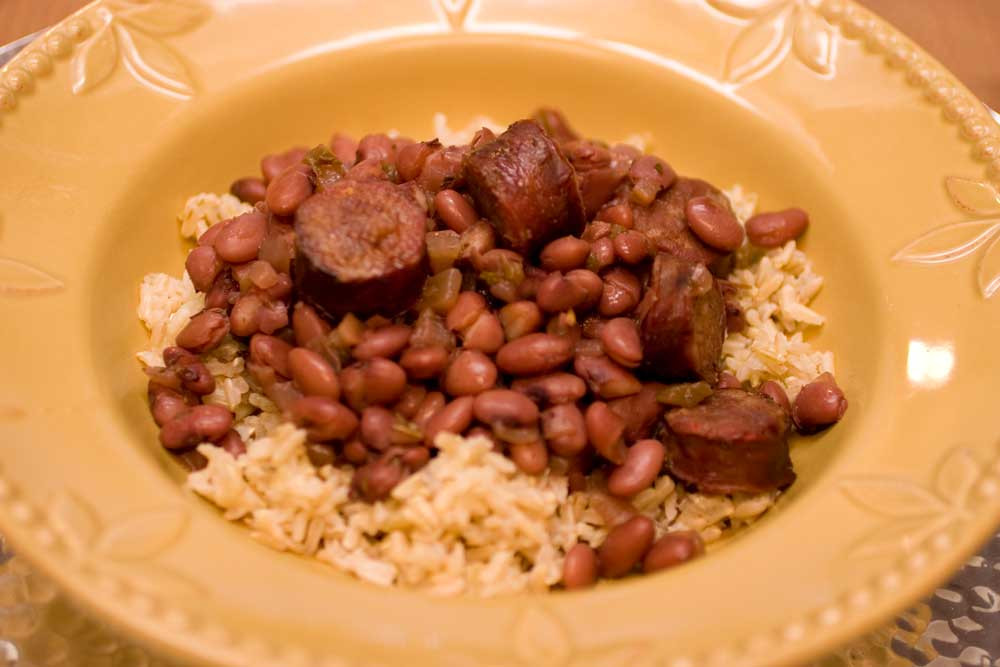 Red Beans And Rice With Sausage  sausage and red rice