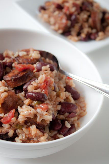 Red Beans And Rice With Sausage  Red Beans And Rice With Andouille Sausage Recipe — Dishmaps