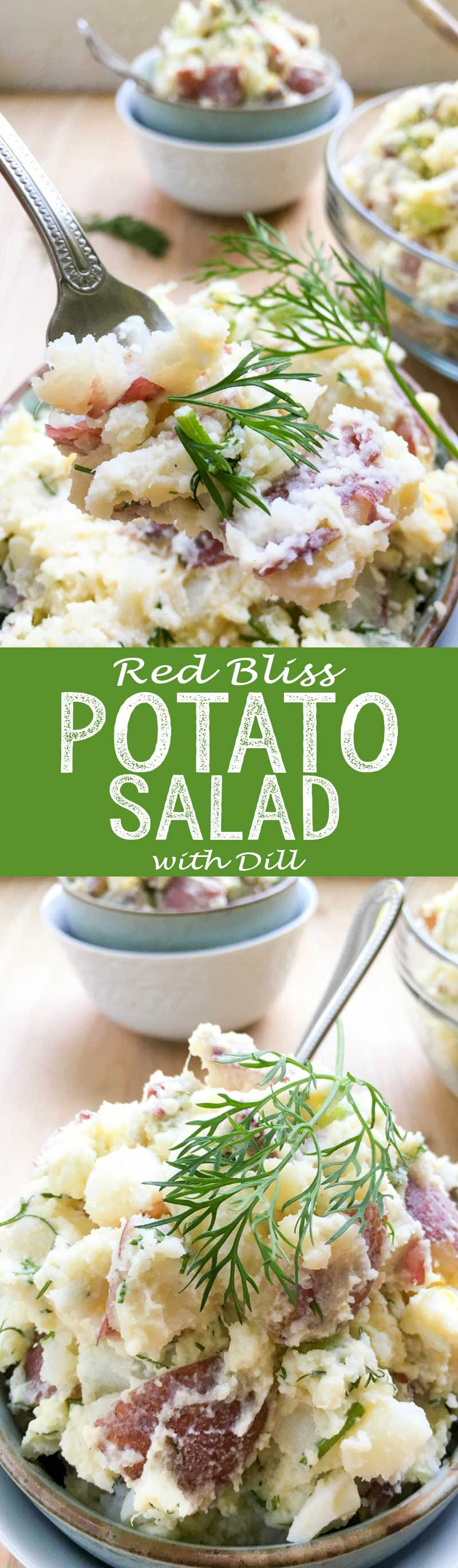 Red Bliss Potato Salad  Red Bliss Potato Salad with Dill Easy Peasy Meals
