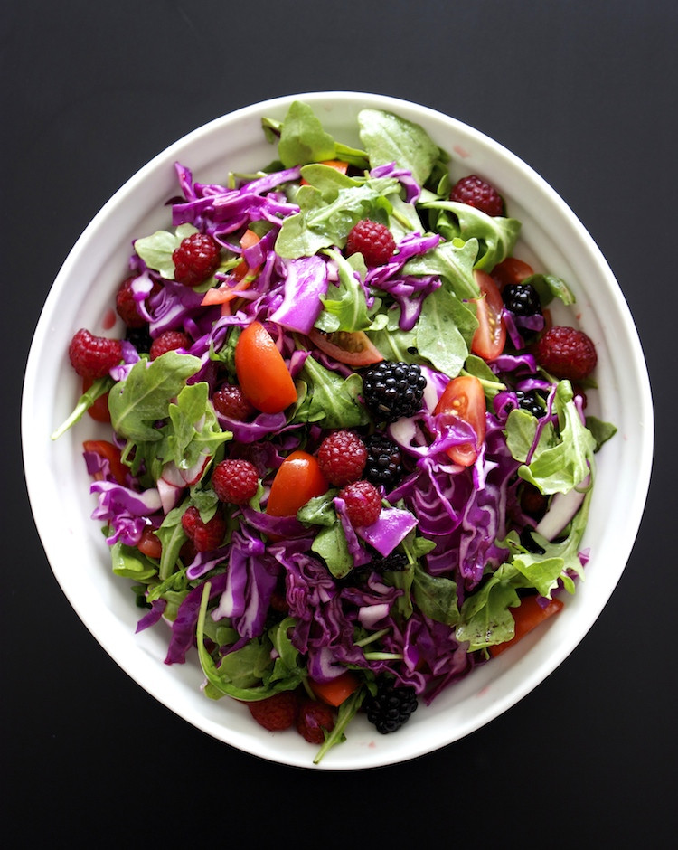 Red Cabbage Salad Recipes  Red Cabbage Salad – Soaking in the Colors of India