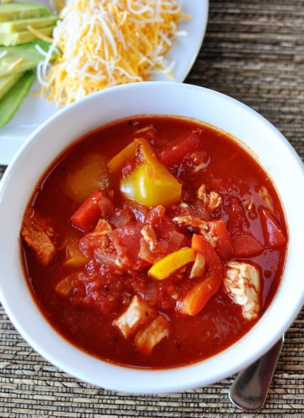 Red Chicken Chili Recipe  Red Chicken Chili