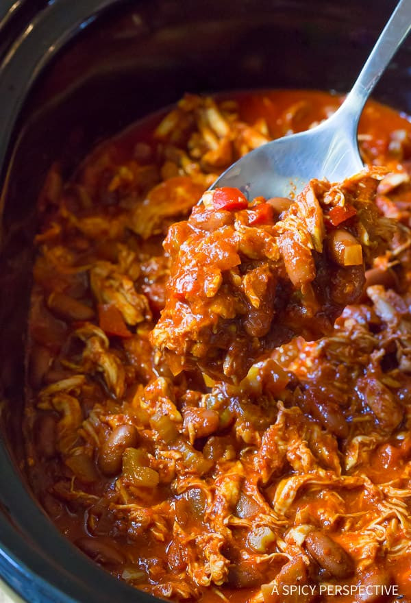 Red Chicken Chili Recipe  Roasted Red Pepper Chicken Chili Recipe A Spicy Perspective