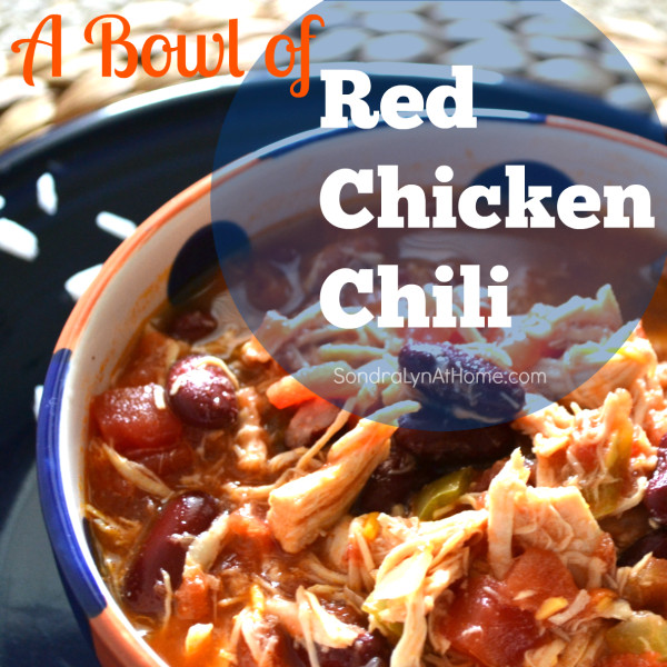 Red Chicken Chili Recipe  Red Chicken Chili with Hunts Tomatoes and Rotel