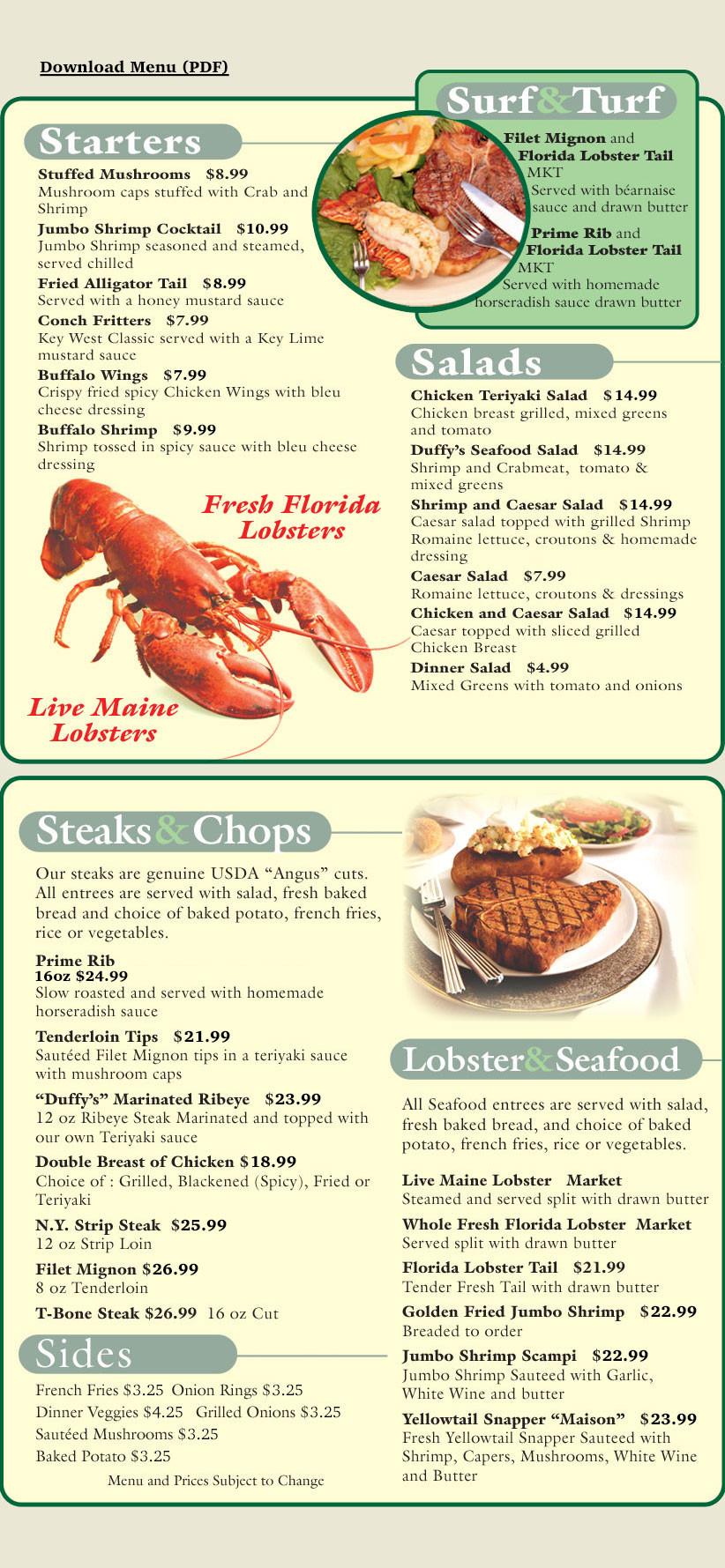 Red Lobster Dinner Menu  Omaha Steaks panies News Videos WebSites Wiki