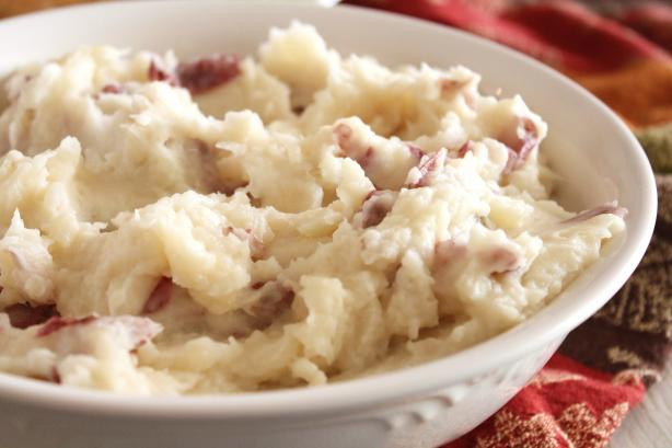Red Mashed Potatoes  Mashed Red Potatoes Recipe My Kitchen Magazine My