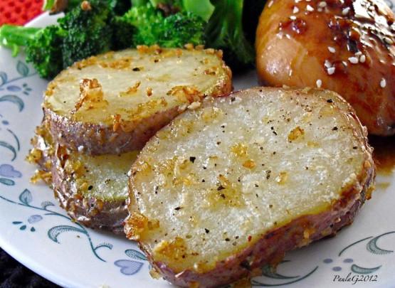 Red Potato Recipes  ion Parmesan Roasted Red Potatoes Recipe Genius Kitchen