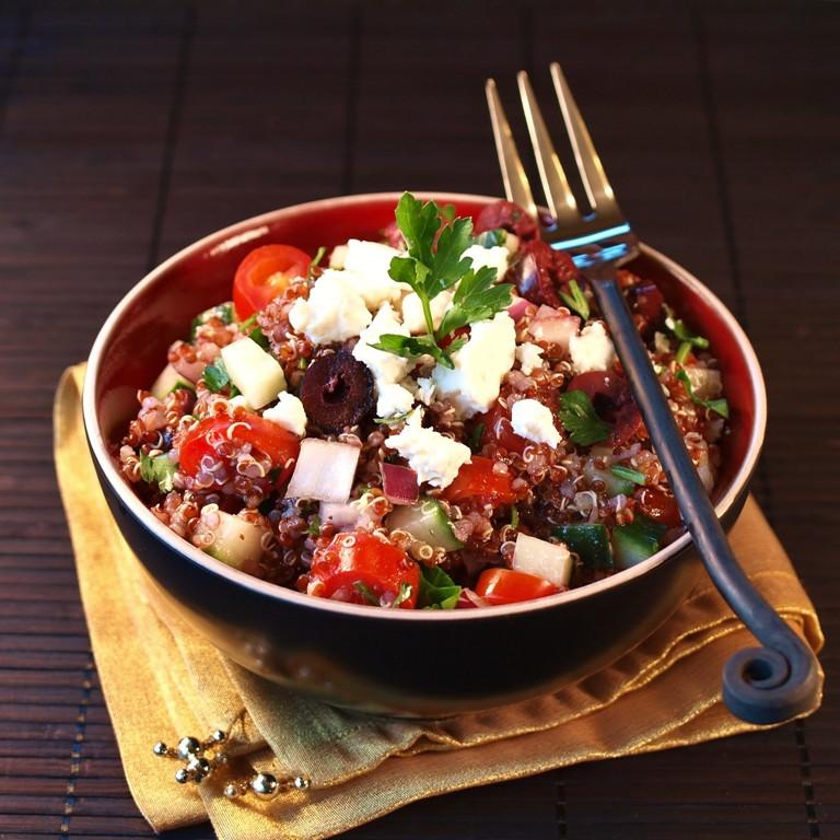 Red Quinoa Salad  Red Quinoa Salad