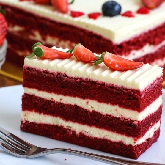 Red Velvet Birthday Cake  Red Velvet Cake Vibrant and Delicious