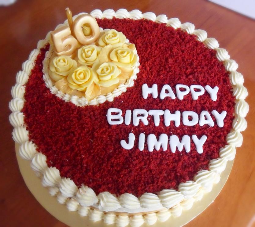 Red Velvet Birthday Cake  Heart of Mary 6 La s and red velvet cake