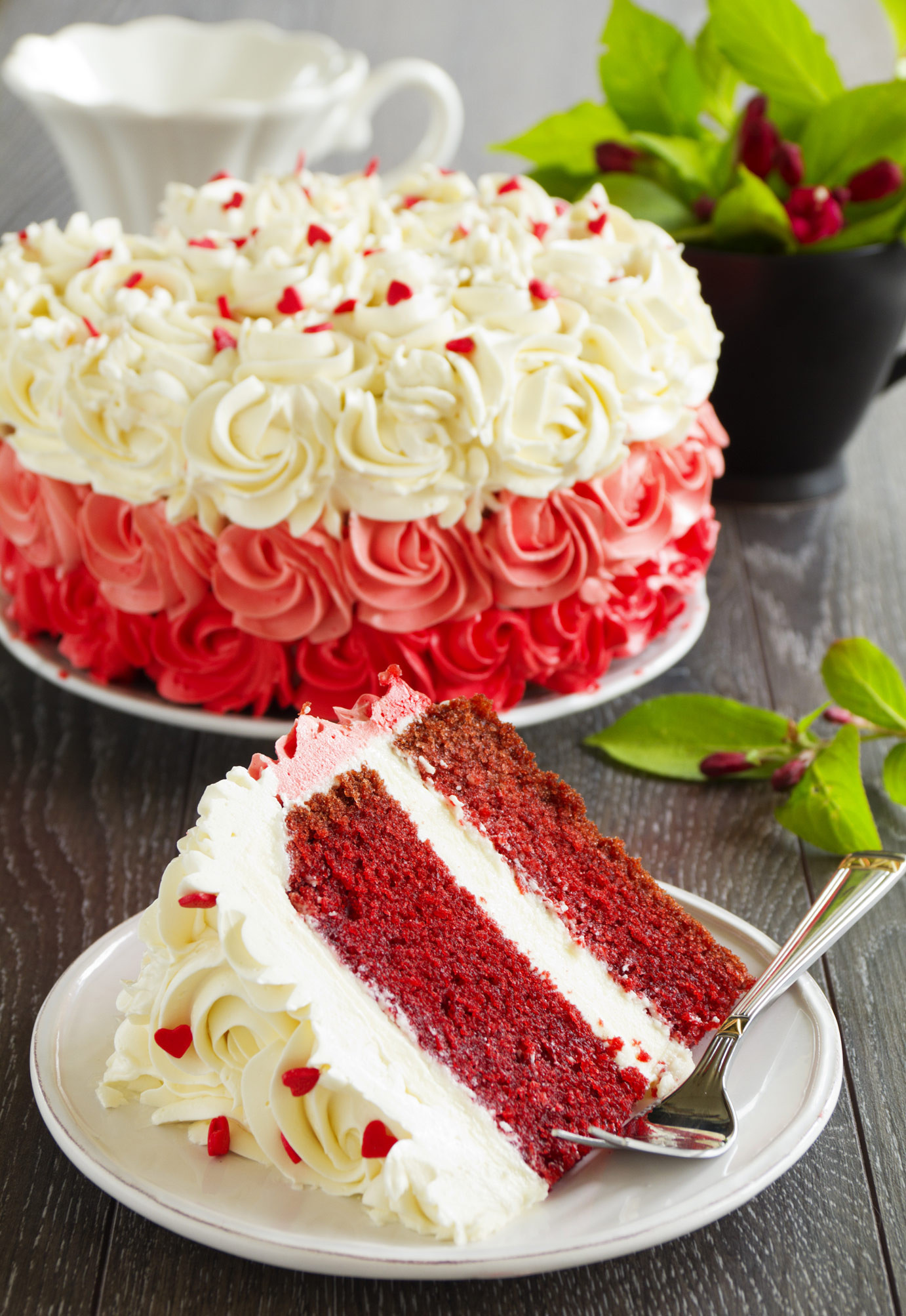 Red Velvet Birthday Cake  Red Velvet Cakes line