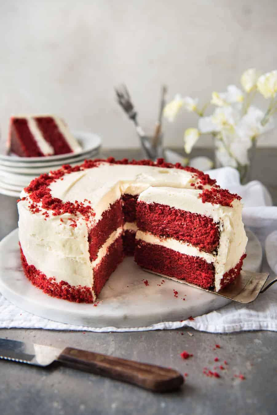 Red Velvet Birthday Cake  Red Velvet Cake