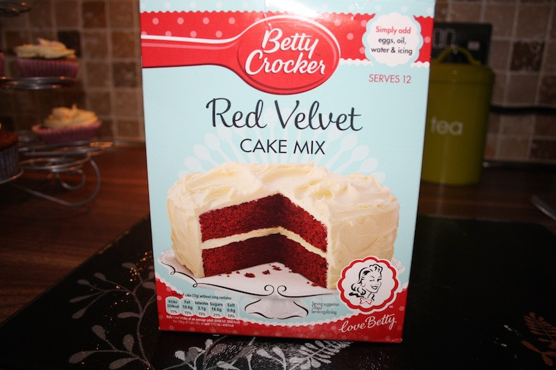 Red Velvet Cake Mix  Betty Crocker Red Velvet Cake Mix PRETTY YOUNG THING