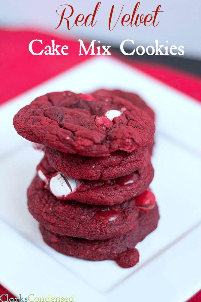 Red Velvet Cake Mix  Red Velvet Cake Mix Cookies