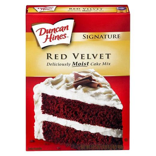 Red Velvet Cake Mix  Duncan Hines Red Velvet Cake Mix 16 5 oz Tar