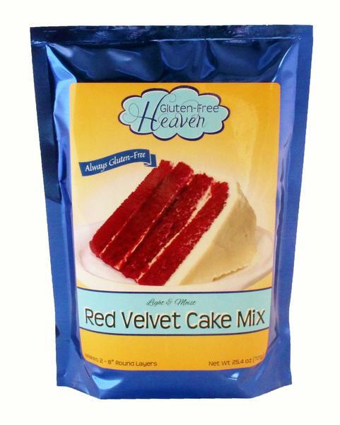 Red Velvet Cake Mix  Gluten Free Red Velvet Cake Mix