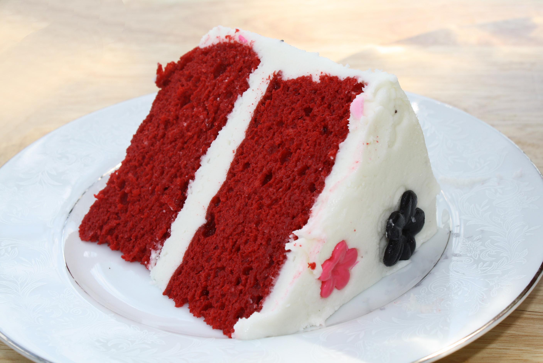 Red Velvet Cake Recipe Red Velvet Cake with Cream Cheese Buttercream