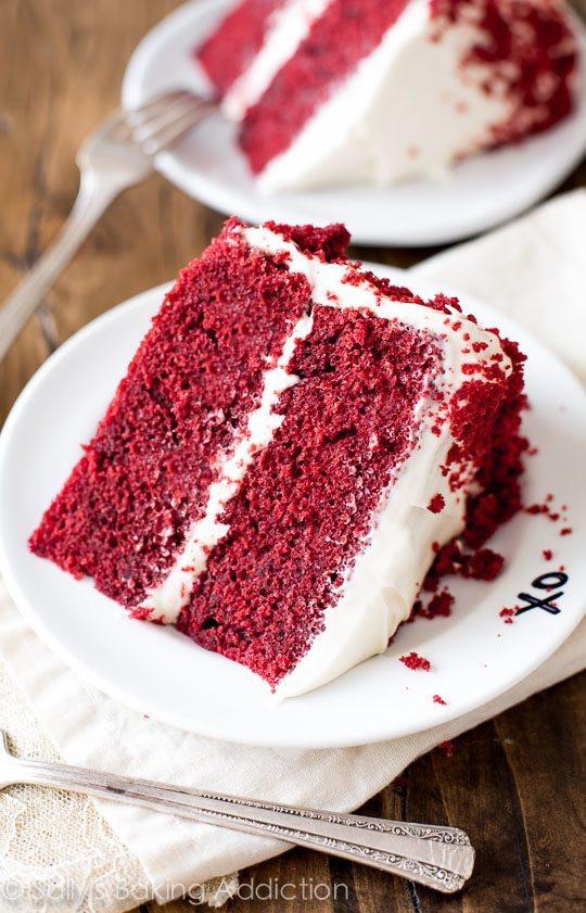 Red Velvet Cake Recipe Red Velvet Layer Cake with Cream Cheese Frosting Sallys