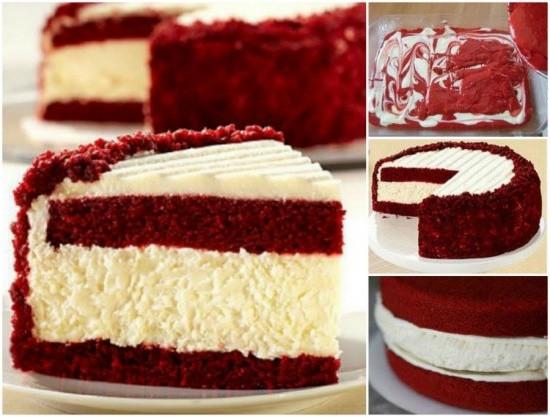Red Velvet Cheesecake Recipe  Wonderful DIY Red Velvet Cheesecake