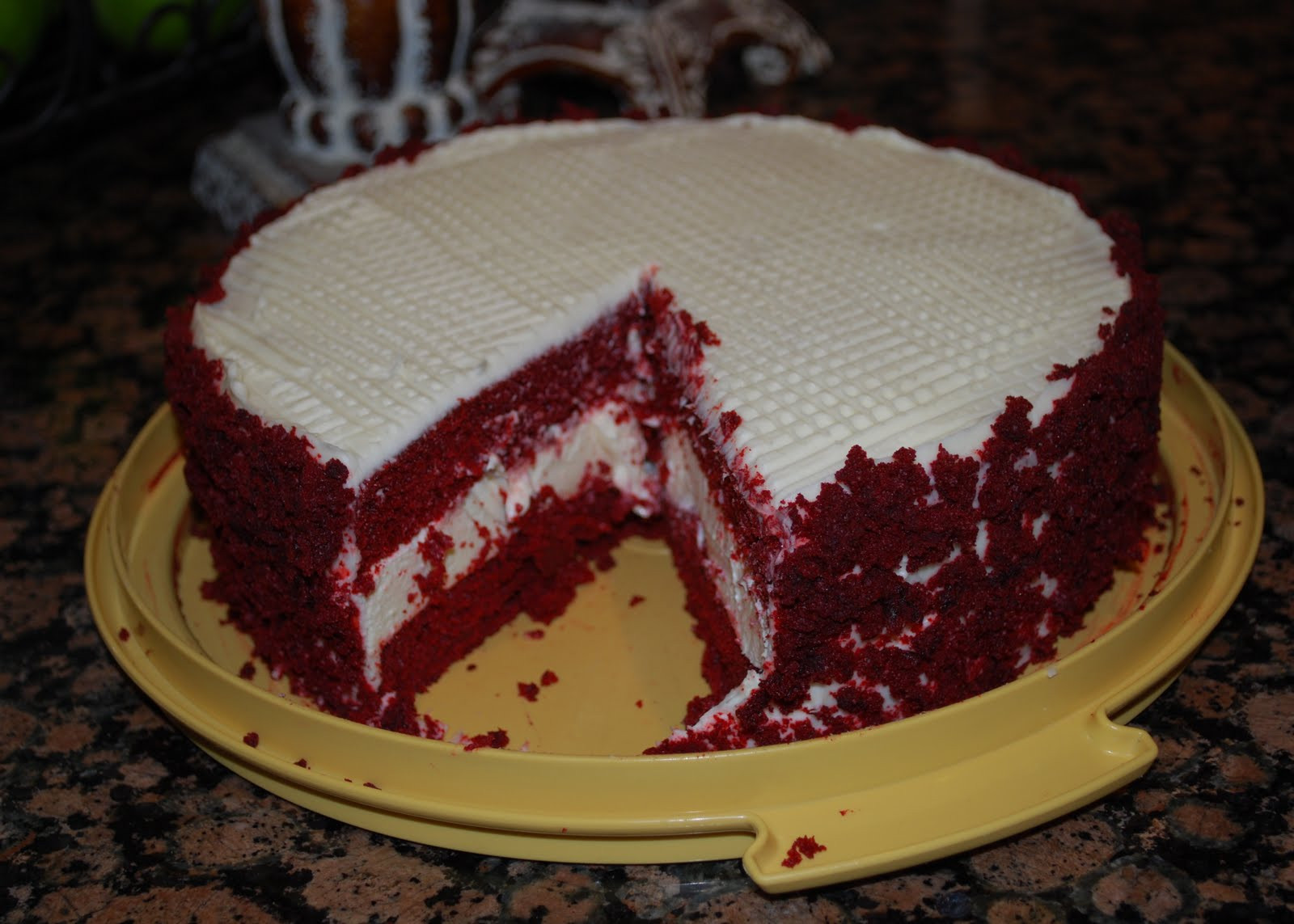 Red Velvet Cheesecake Recipe  Culinary Couture Red Velvet Cheesecake