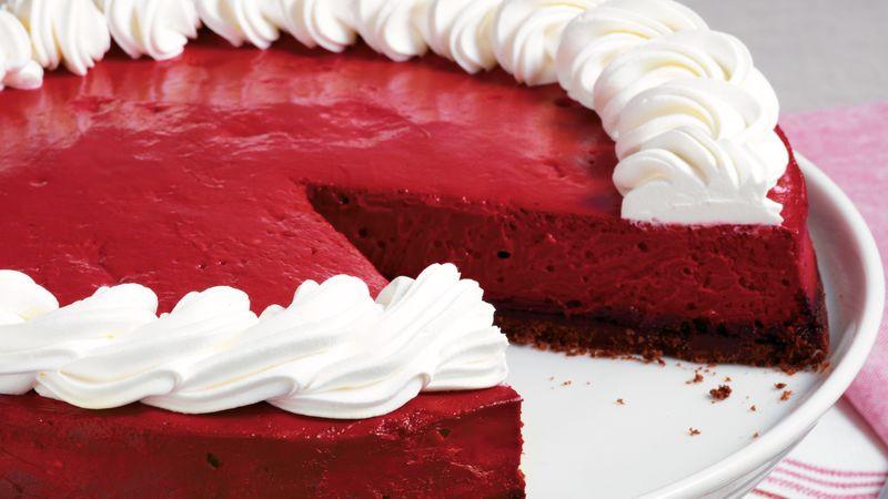 Red Velvet Cheesecake Recipe  Red Velvet Cheesecake recipe from Betty Crocker