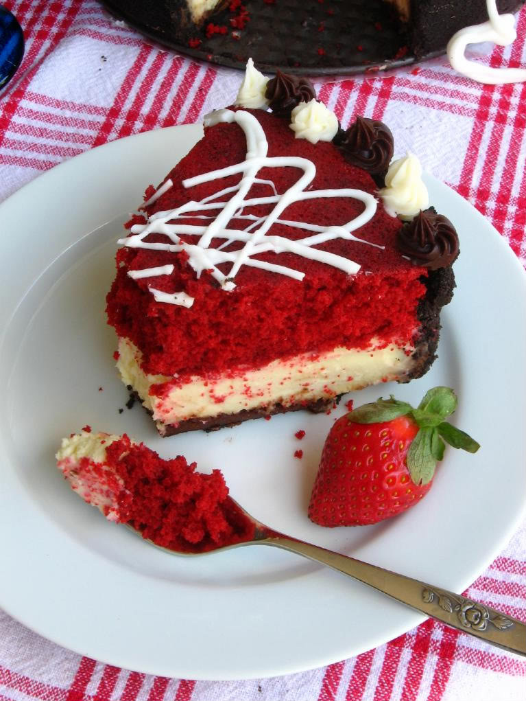 Red Velvet Cheesecake Recipe  Red Velvet Cheesecake Willow Bird Baking