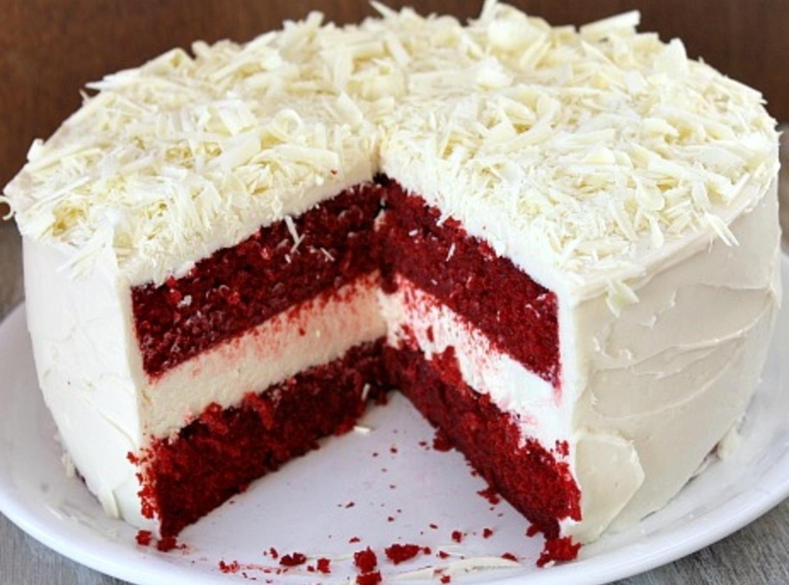 Red Velvet Cheesecake Recipe  Red Velvet Cheesecake Cake Recipe