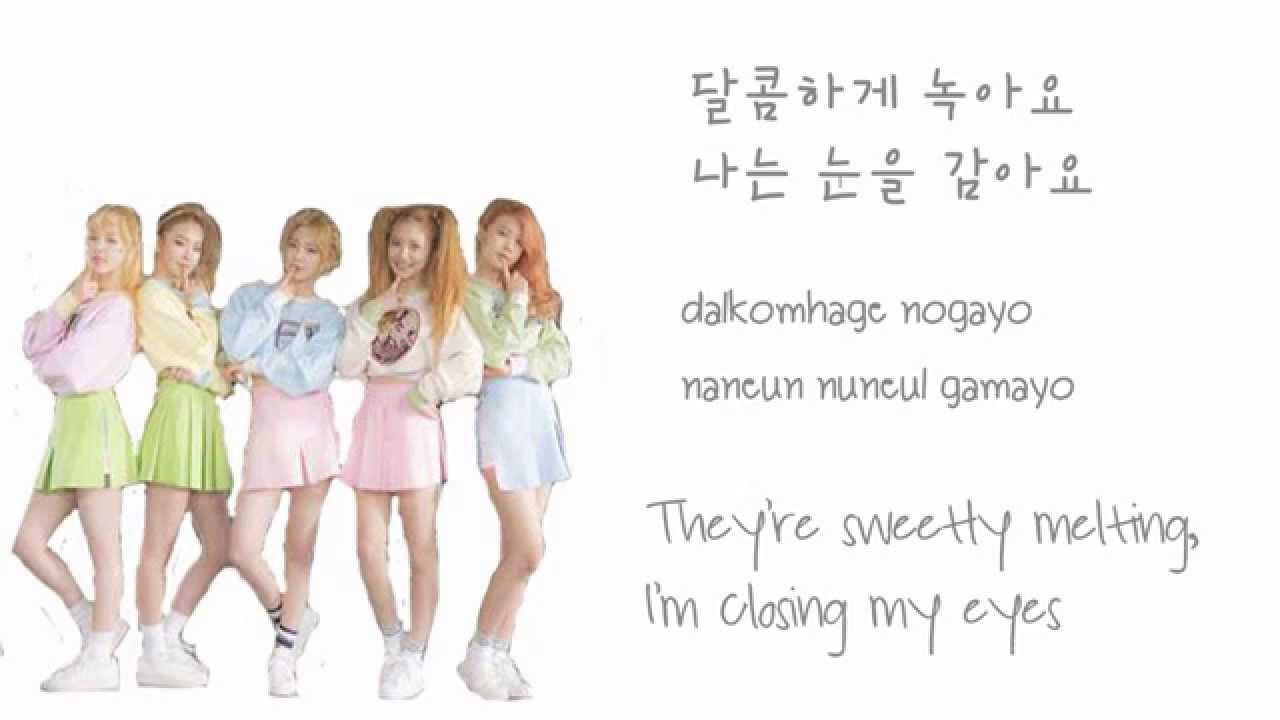 Red Velvet Ice Cream Cake Lyrics  Red Velvet Ice Cream Cake Color Coded HAN ROM ENG
