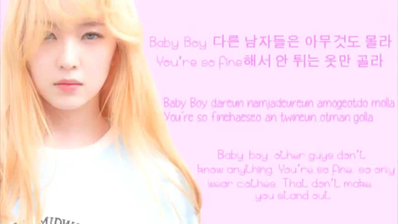 Red Velvet Ice Cream Cake Lyrics  Red Velvet Ice Cream Cake Colour Coded Lyrics [Han Rom