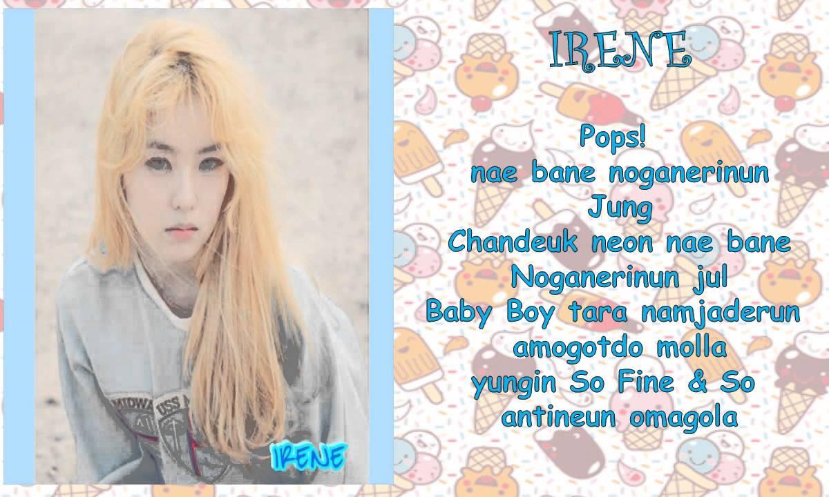 Red Velvet Ice Cream Cake Lyrics  Red Velvet Ice Cream Cake Lyrics
