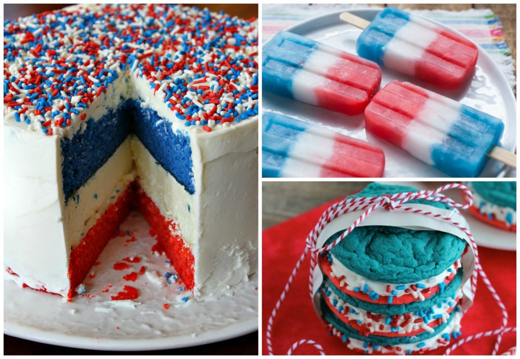 Red White And Blue Dessert  9 Incredible Red White & Blue Desserts for the 4th of