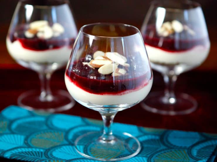 Ree Drummond Desserts  Cherry Cheesecake Shooters from Ree Drummond