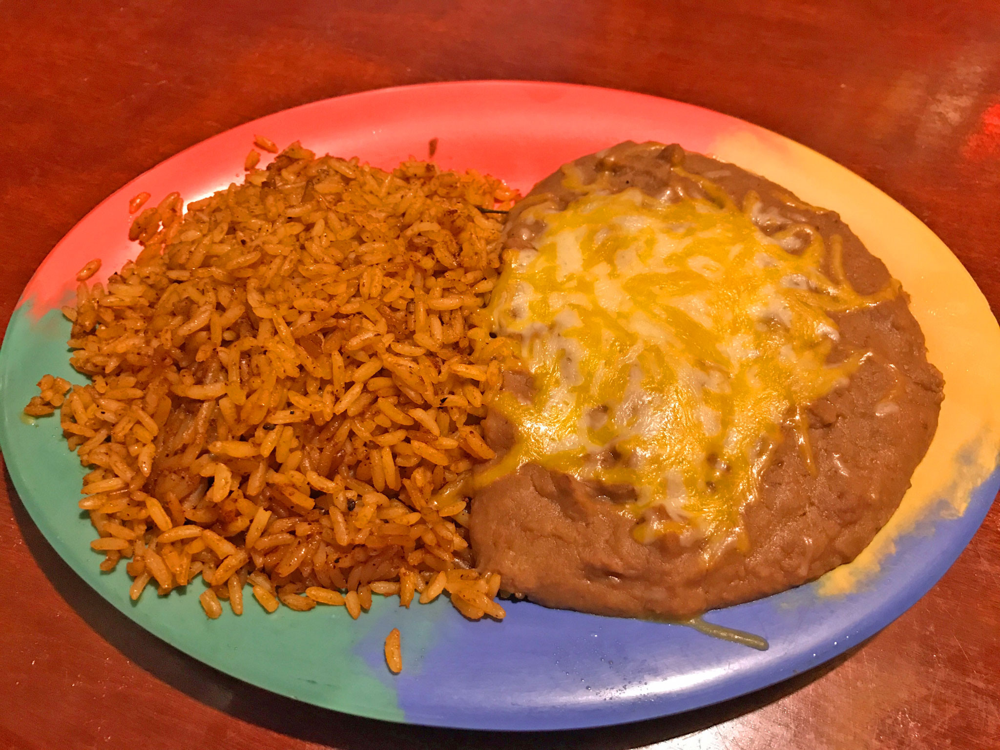 Refried Beans And Rice  Review VIP Mexican Restaurant & Lounge